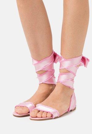Sandals - sweet rose