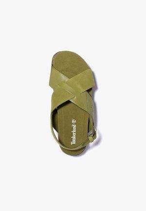 SANTAMONICA SUNRISE XBAND - Platform sandals - nutria