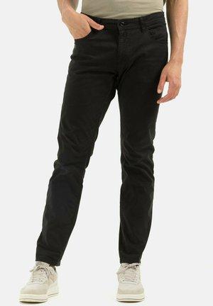 REGULAR FIT AUS MIX - Trousers - charcoal