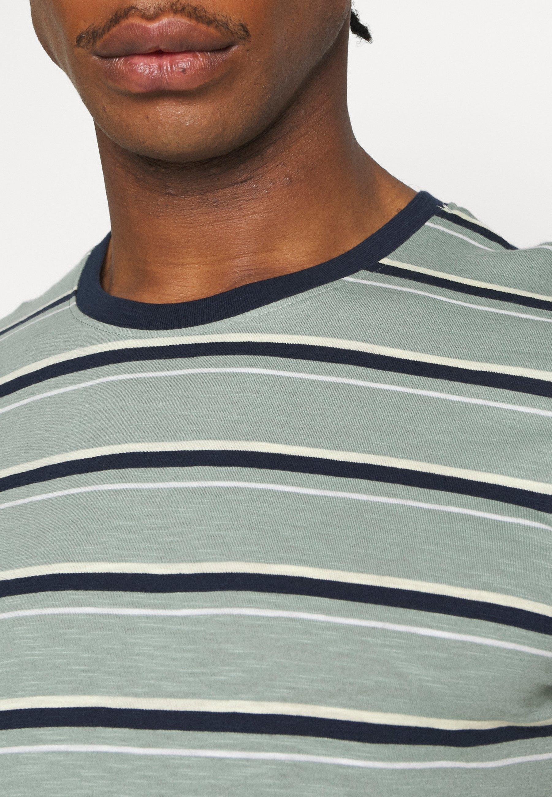 Jack & Jones JORBOBBI - Print T-shirt - green milieu iArSk