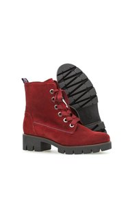 Gabor - Lace-up ankle boots - rot - 2