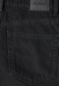 Weekday - ROWE  - Shorts di jeans - echo black - 2