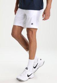 Fila - SANTANA - Sports shorts - white - 0