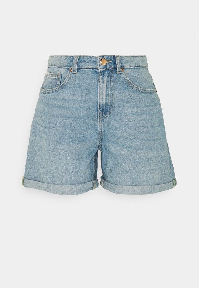 ONLPHINE LIFE - Shorts di jeans - light blue denim