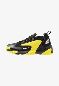 Nike Sportswear - ZOOM  - Sneakers - black/white/dynamic yellow - 1