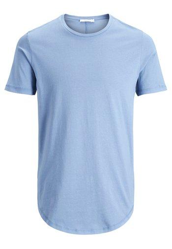JJPRHUGO TEE CREW NECK  - Basic T-shirt - light blue