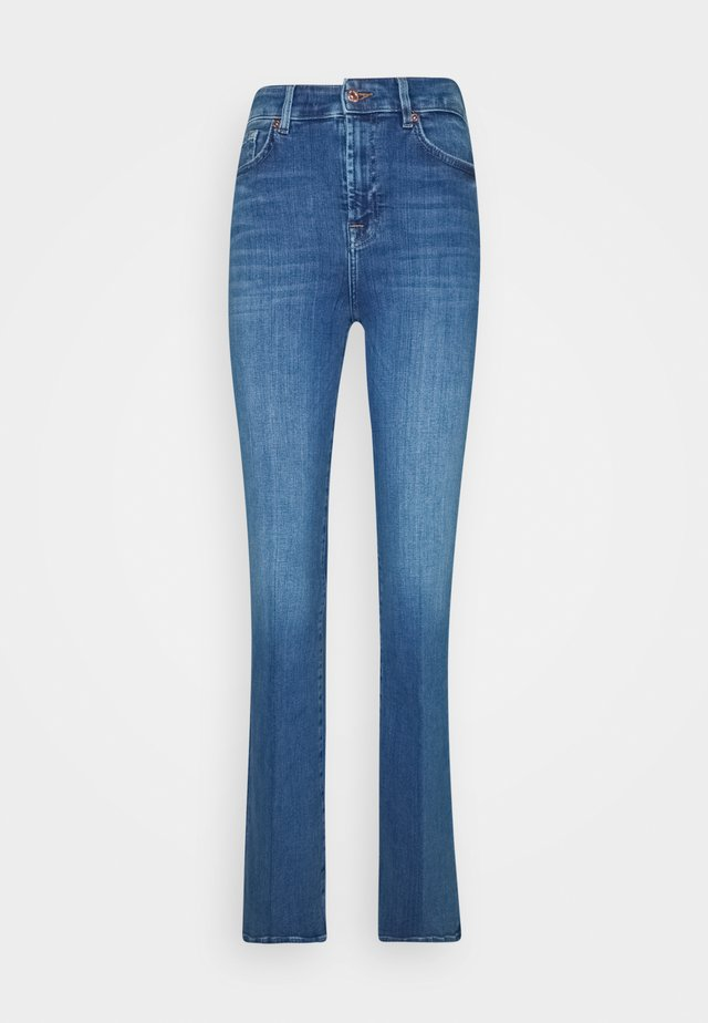 LISHA - Jean bootcut - blue denim