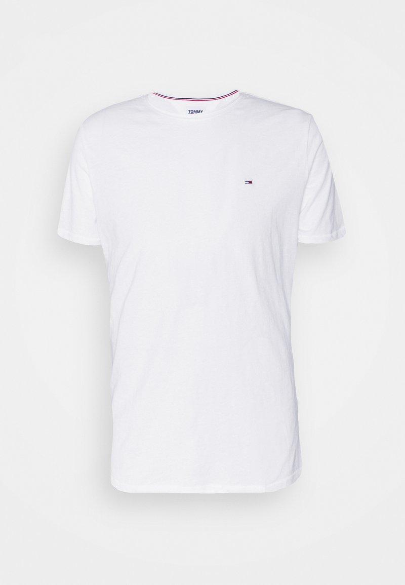 Tommy Jeans - SLIM JASPE C NECK - Basic T-shirt - white