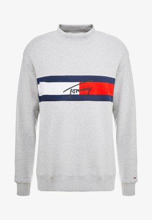 FLAG PANEL - Felpa - light grey