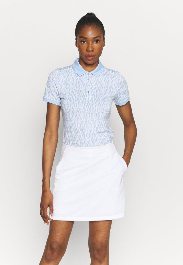 WOMEN ENYA - T-shirt sportiva - buttercream/cloud blue