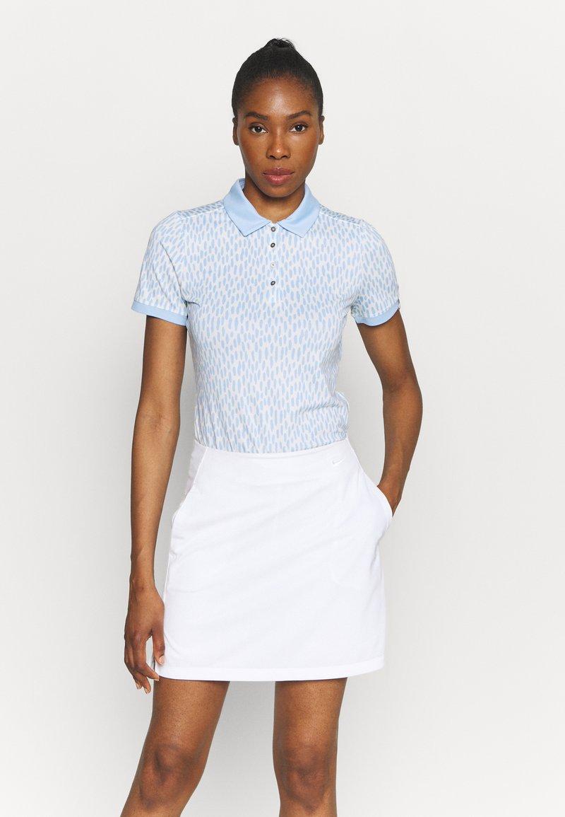 Kjus - WOMEN ENYA - Sports shirt - buttercream/cloud blue