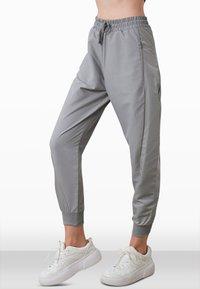 Trendyol - Tracksuit bottoms - grey - 0