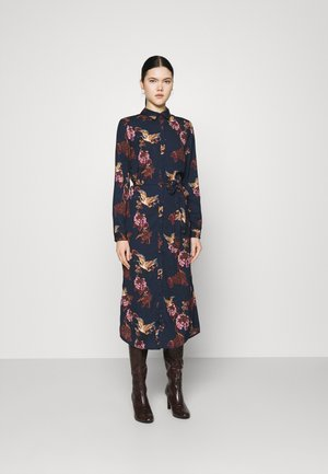 VMCRANE DRESS - Maxi dress - navy blazer/small crane