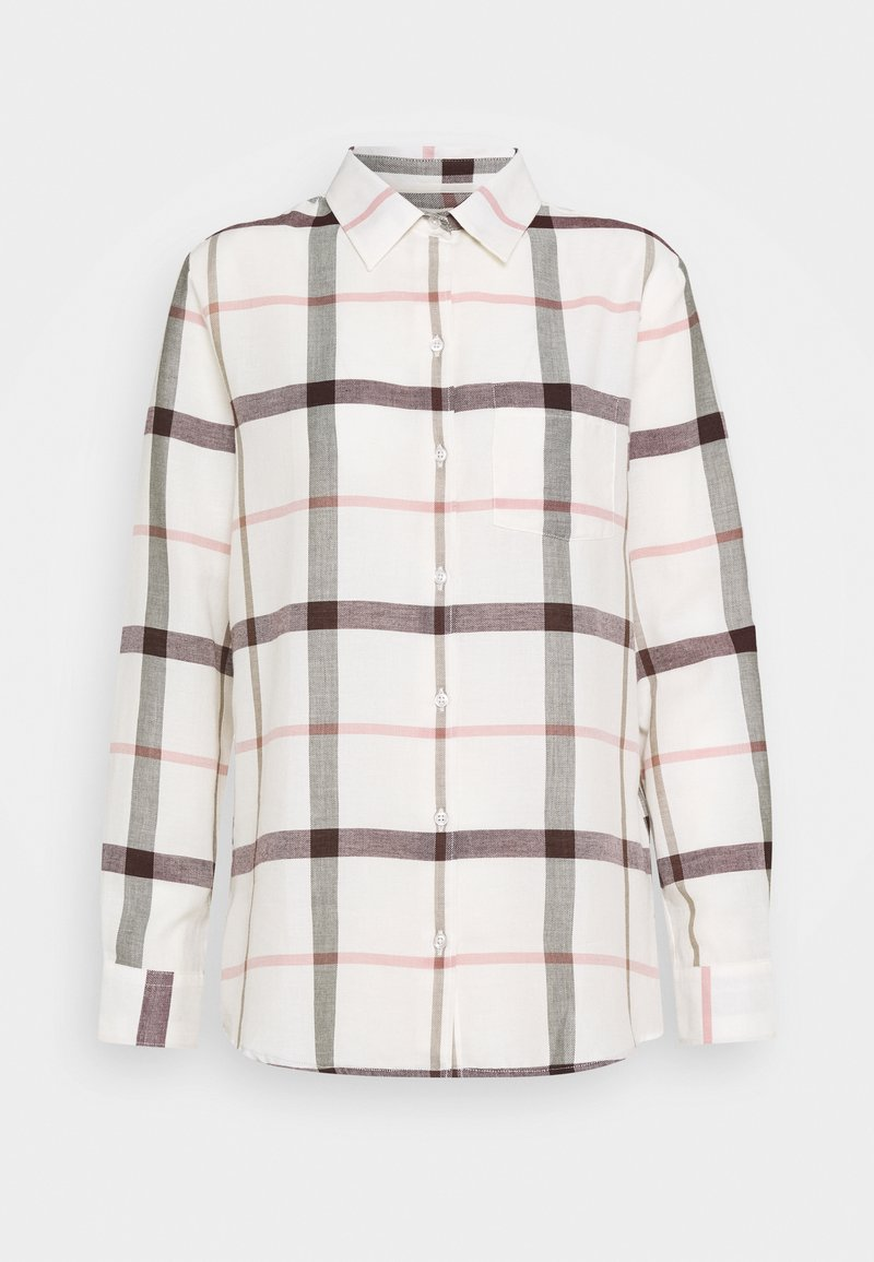 Barbour - WINTER OXER - Button-down blouse - cloud