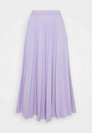 DAFFODIL PLEATED MIDI SKIRT - Gonna a campana - pastel lilac