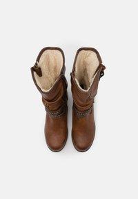 Mustang - Cowboy/Biker boots - cognac - 5