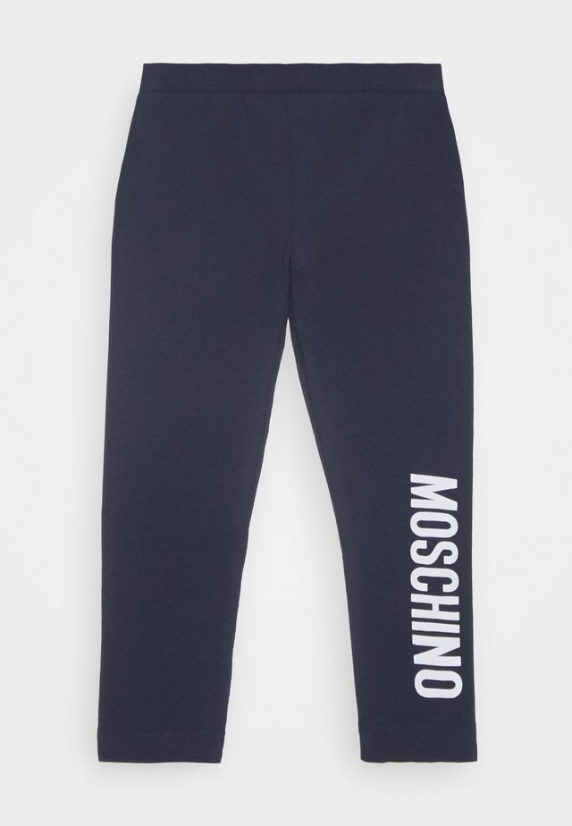 Leggings - blue navy