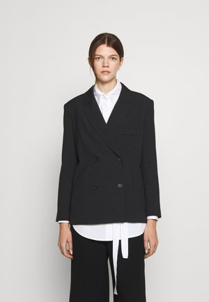CAROL SOPHISTICATED - Krótki płaszcz - black grey