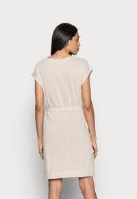 Esprit - DRESS  - Jersey dress - sand - 2