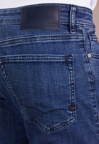 BOSS - MAINE - Straight leg jeans - medium blue - 3