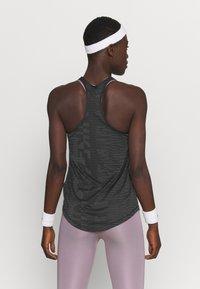 Nike Performance - AIR TANK - Funktionsshirt - black/iron grey/silver - 2
