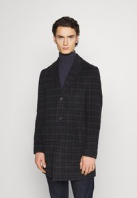 Isaac Dewhirst - CHECK OPTION - Classic coat - dark blue - 0