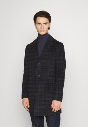 CHECK OPTION - Classic coat - dark blue