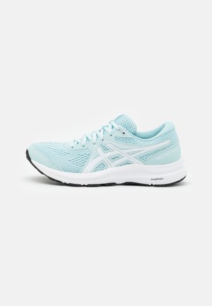 GEL CONTEND 7 - Zapatillas de running neutras - aqua/white