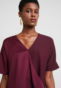 French Connection - ALESSIA WRAP  - Blouse - berry blush - 5