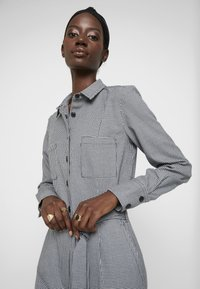 TOM TAILOR - OVERALL CASUAL CHECK - Overal - grey - 3