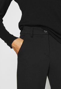 Opus - MELINA - Trousers - black - 4