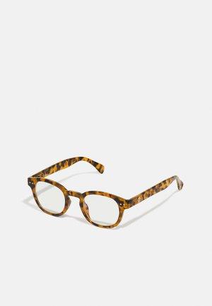 CARRO UNISEX - Gafas con filtro de luz azul - brown