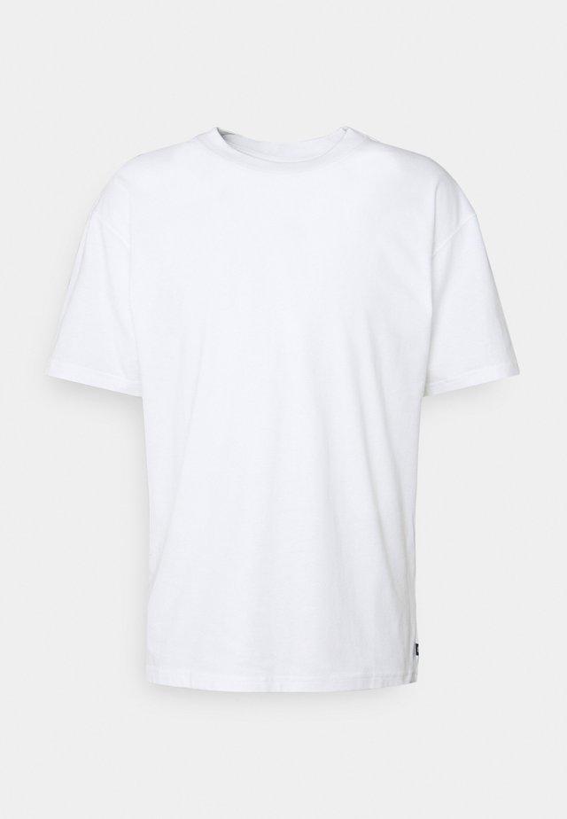 TEE ESSENTIALS UNISEX - T-shirt basic - white