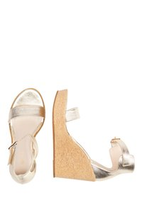 IZIA - High heeled sandals - gold - 3