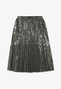 Bardot Junior - IVA SEQUIN PLEAT - Plooirok - gunmetal - 2