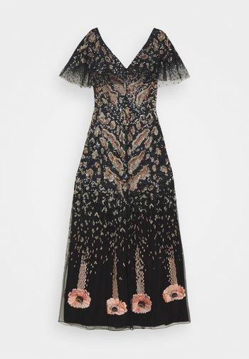 CANDY LONG DRESS - Společenské šaty - black mix