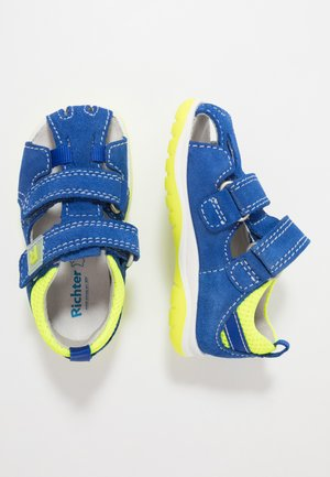 Sandals - liberty/neon yellow
