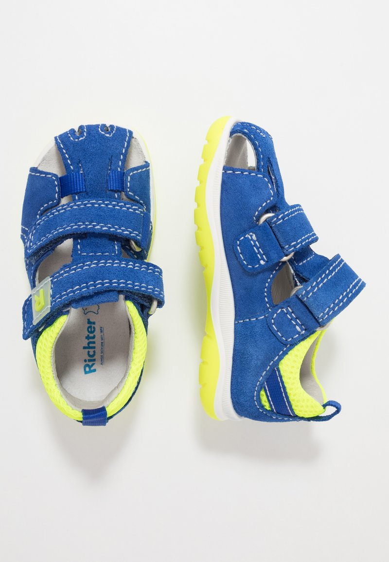 Richter - Riemensandalette - liberty/neon yellow