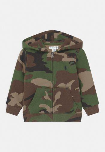 HOOD - Zip-up sweatshirt - green