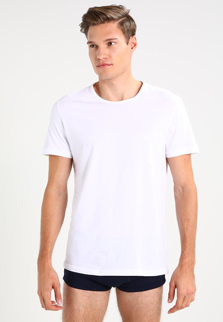 Emporio Armani - CREW NECK 2 PACK  - Maglietta intima - white