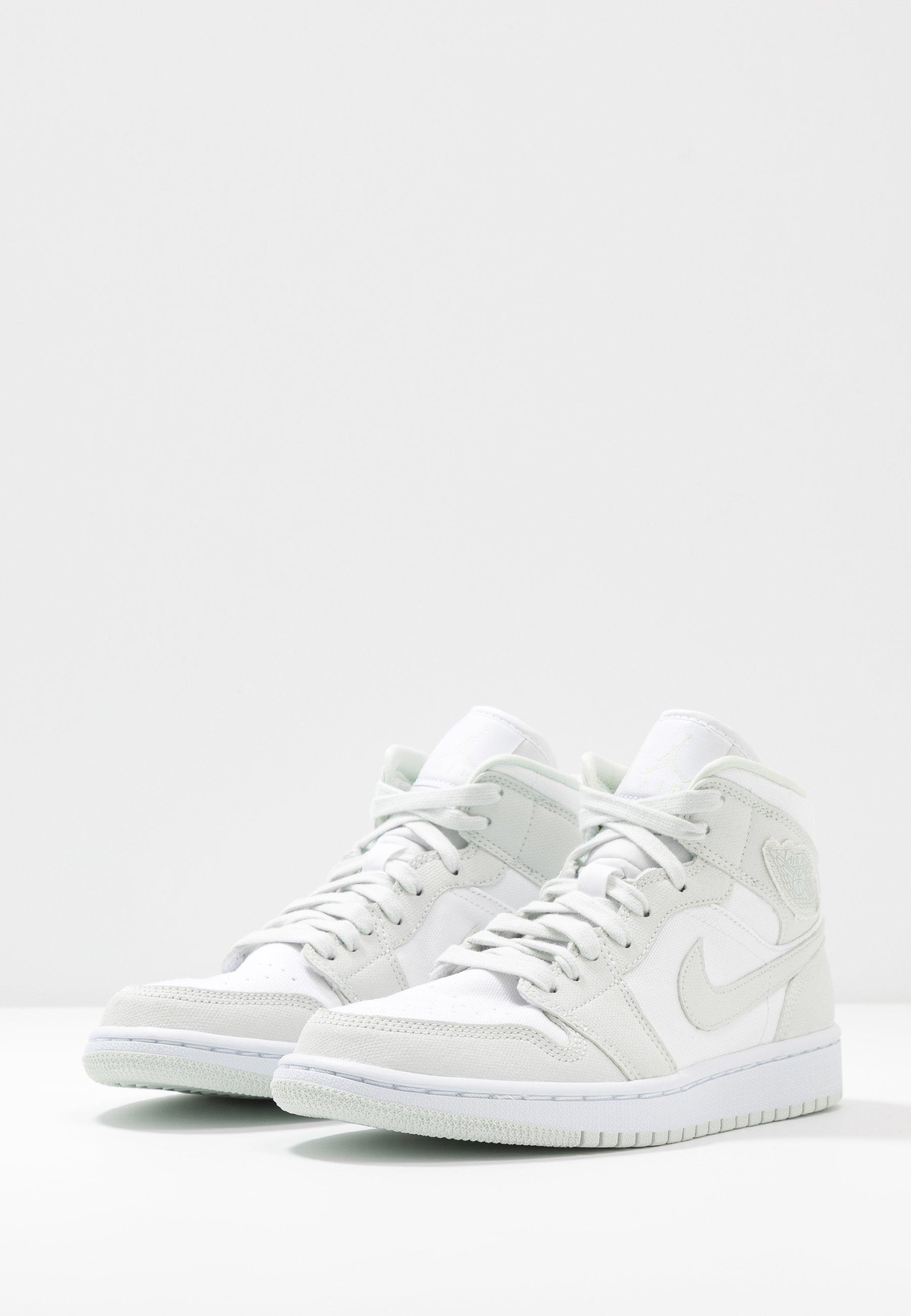 AIR 1 MID - Sneakers hoog - white/spruce aura