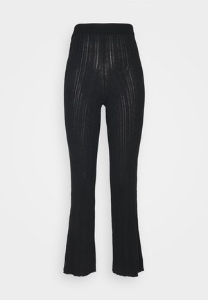 MOON TROUSERS - Bukse - black