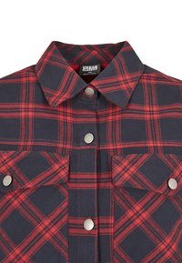 Urban Classics - OVERSIZED  - Button-down blouse - midnightnavy/red - 10