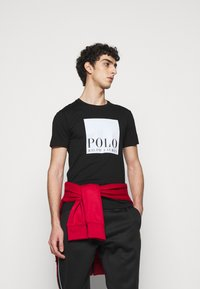 Polo Ralph Lauren - LUX TRACK - Pantalon de survêtement - black - 4
