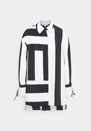 STRIPE CHUCK ON  - Blouse - black/white