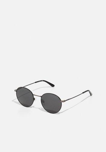 UNISEX - Sluneční brýle - matte black/gunmetal