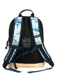 pick & PACK - SHARK RUCKSACK M - KINDERRUCKSACK HAIE - Backpack - hellblau - 4
