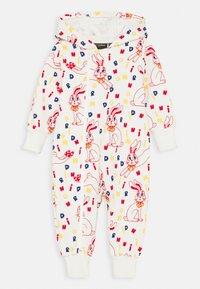Mini Rodini - BABY MR RABBIT BUNNY ONESIE UNISEX - Jumpsuit - offwhite - 0