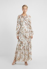 Needle & Thread - GARLAND PETAL WRAP GOWN - Occasion wear - ivory - 0