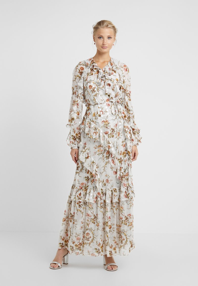 Needle & Thread - GARLAND PETAL WRAP GOWN - Occasion wear - ivory